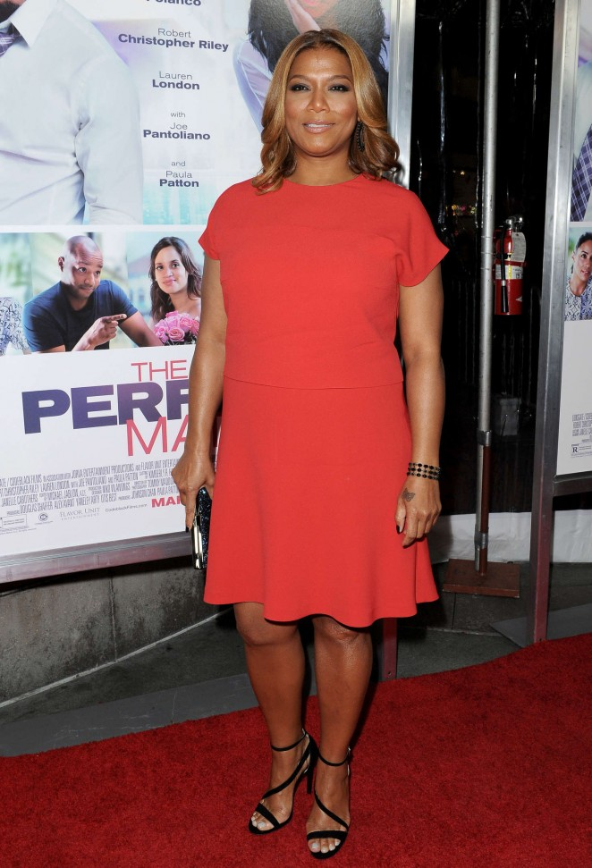 Queen Latifah - 'The Perfect Match' Premiere in Los Angeles