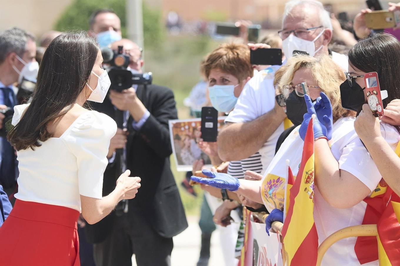 Queen Letizia Of Spain 2021 : Queen Letizia of Spain – 2021 Educational Congress on Rare Disease at CPEIBas Guadalentin in Totana-17