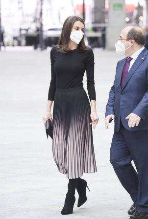 Queen Letizia of Spain - At APM Journalism Awards 2019 and 2020 in Madrid