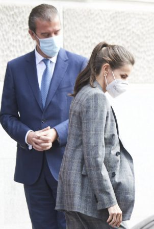 Queen Letizia of Spain - Attends 'Women and Engineering' in Madrid