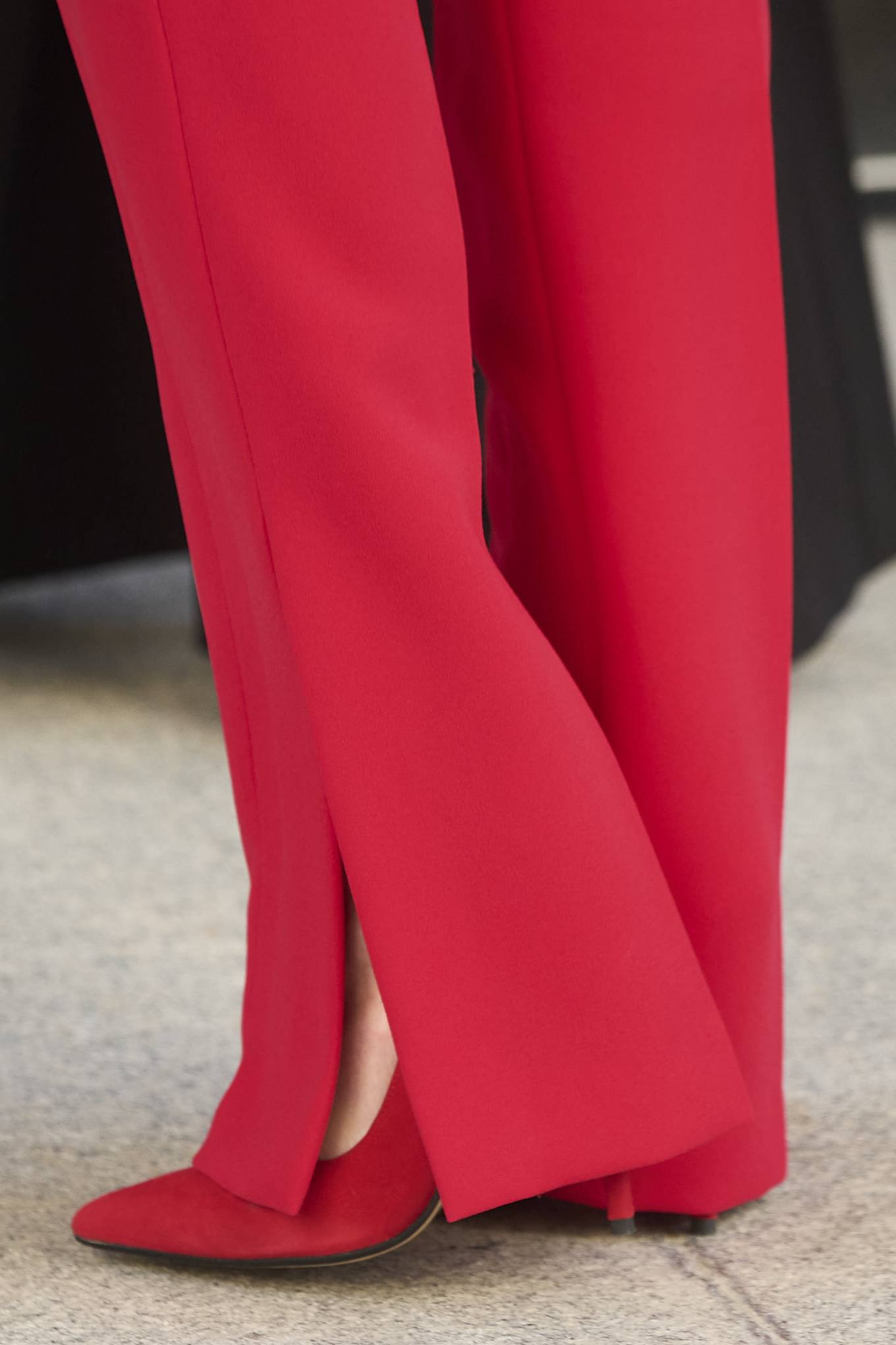 Queen Letizia Of Spain 2021 : Queen Letizia of Spain – In all red attends the tribute to the figure of Clara Campoamor in Madrid-08