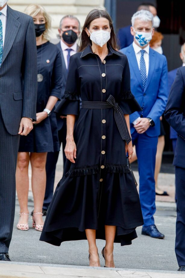 Queen Letizia of Spain - Inauguration of the Terrorism victims memorial center in Vitoria