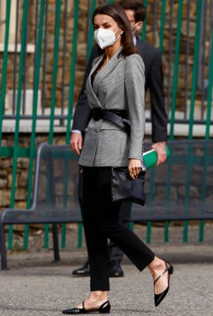 Queen Letizia of Spain - Pictured during Andorra State visit