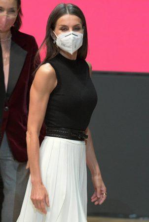 Queen Letizia of Spain - Presentation of IFEMA's new branding in Madrid