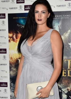 Rachael Downie - 'Knights of the Damned' Premiere in London