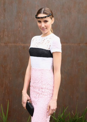 Rachael Finch - Stakes Day at Flemington Racecourse in Melbourne