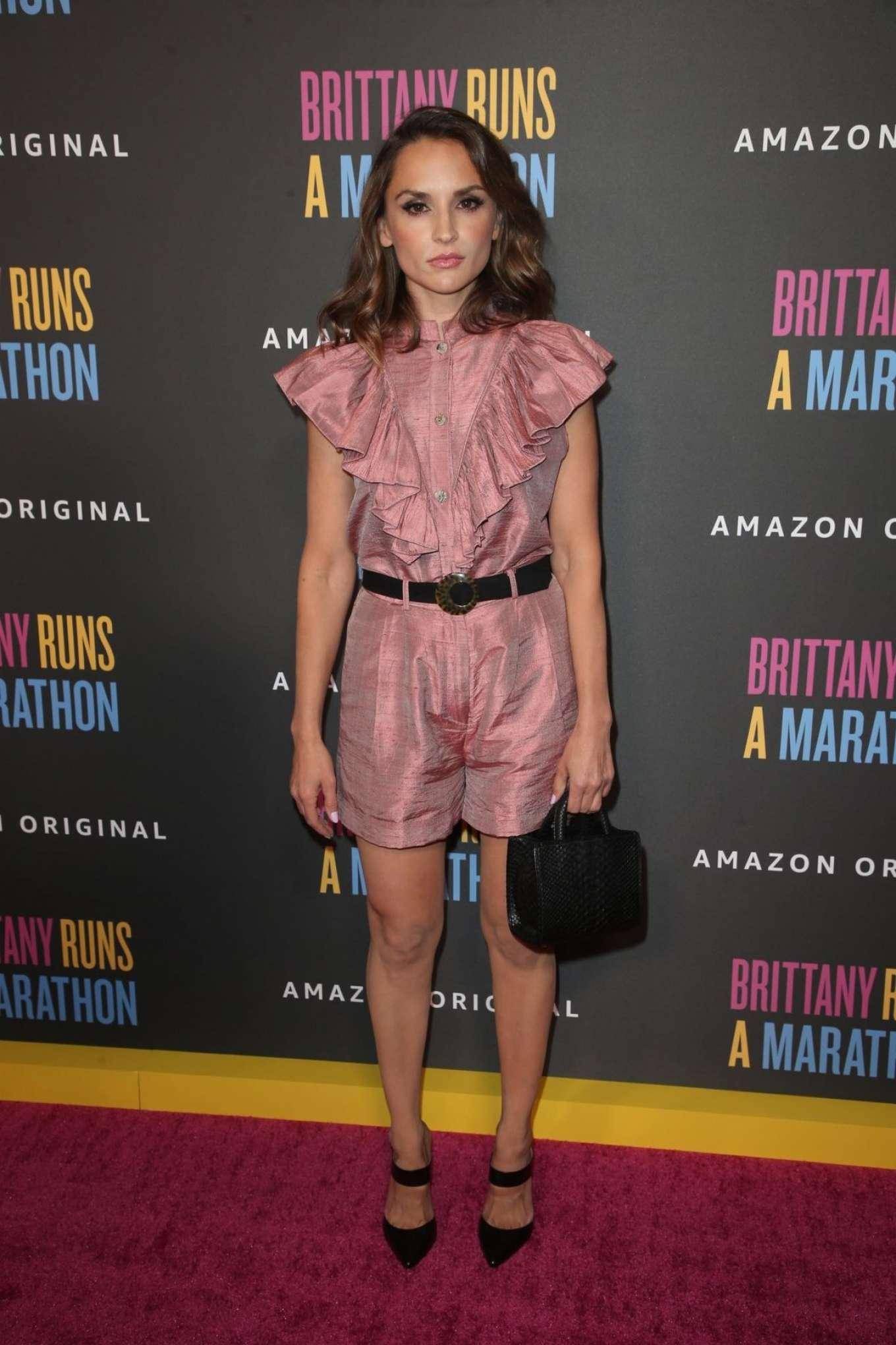 Rachael Leigh Cook 2019 : Rachael Leigh Cook – Brittany Runs A Marathon Premiere in Los Angeles-07