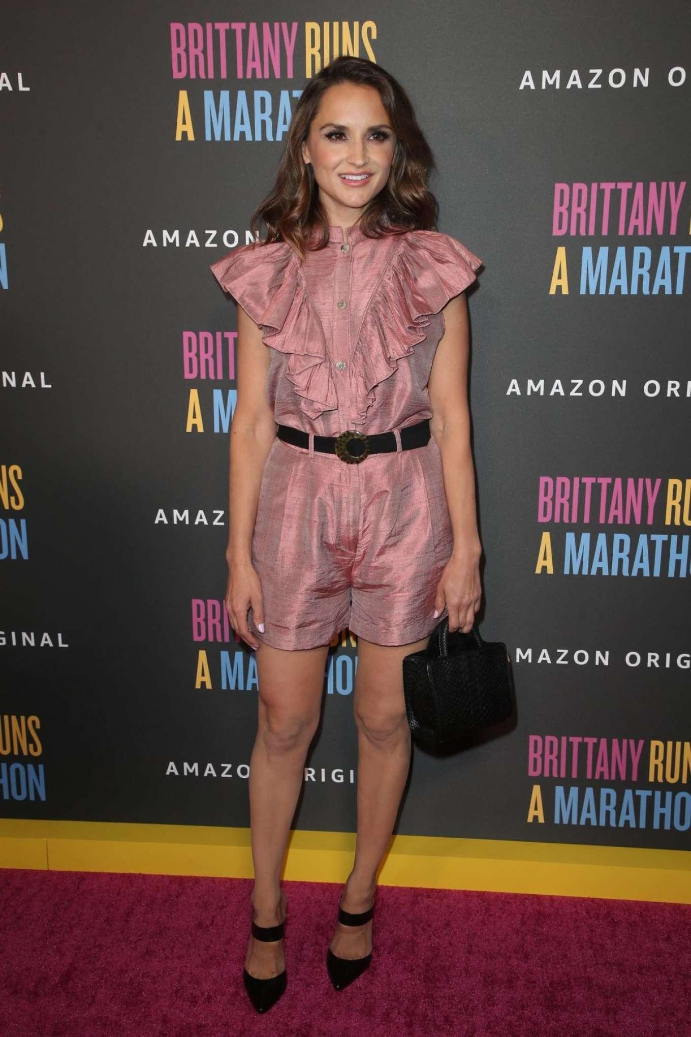 Rachael Leigh Cook - Brittany Runs A Marathon Premiere in Los Angeles