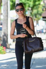 Rachael Leigh Cook - Heading to a gym in Studio City