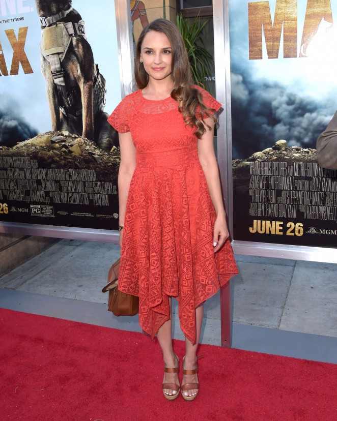 Rachael Leigh Cook - 'Max' Premiere in LA