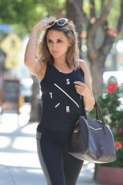 Rachael Leigh Cook - Spotted going to the gym in Studio City