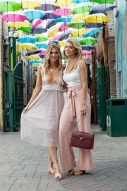 Rachel and AnnaLynne McCord at The McCord List Coachella Roadtrip Photoshoot