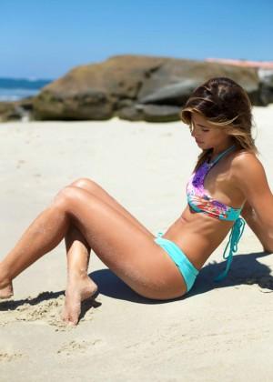 Rachel Barnes: Vintage Aloha Bikini 2015 -23