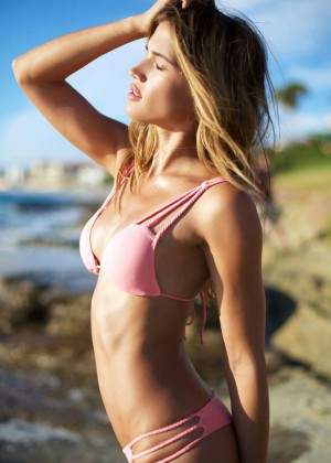Rachel Barnes: Vintage Aloha Bikini 2015 -58