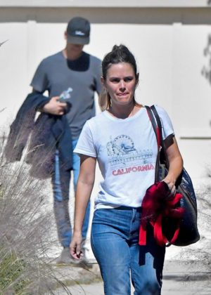 Rachel Bilson and Hayden Christensen out in Los Angeles