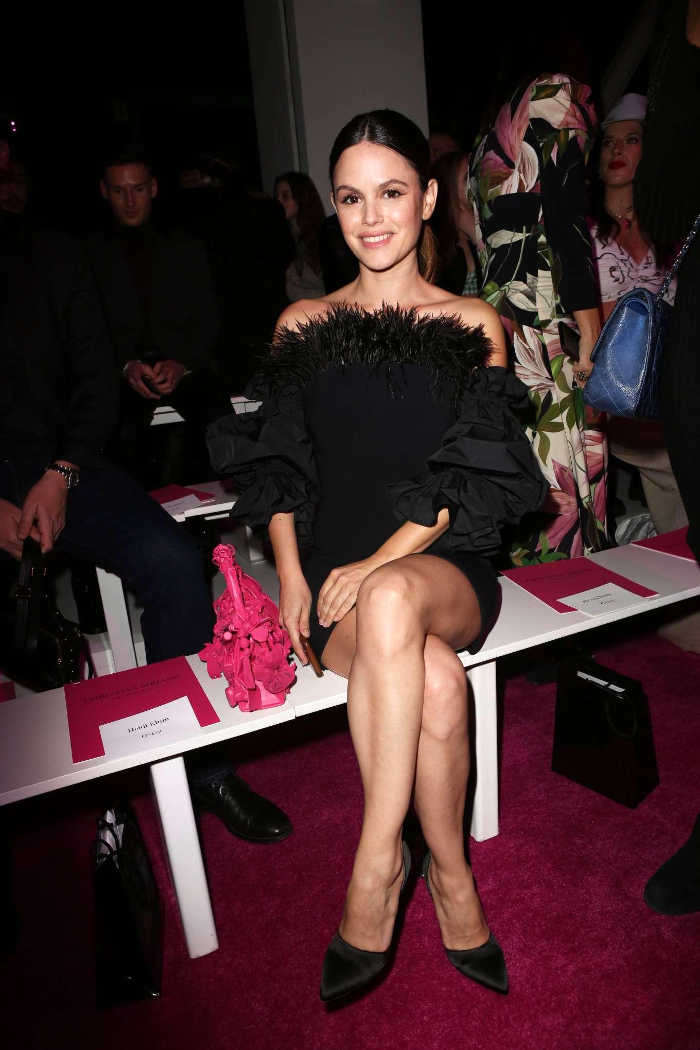 Rachel Bilson 2020 : Rachel Bilson – Christian Siriano Show at New York Fashion Week 2020-01