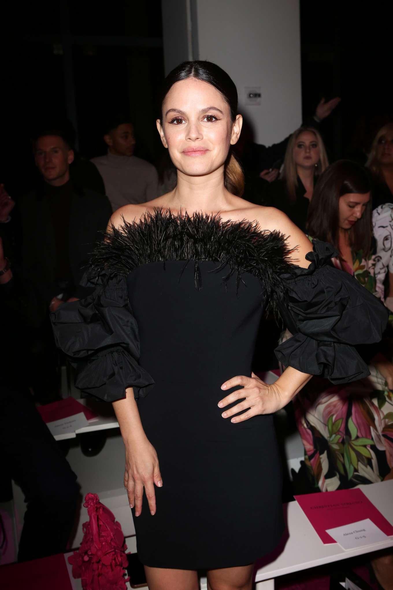 Rachel Bilson 2020 : Rachel Bilson – Christian Siriano Show at New York Fashion Week 2020-04