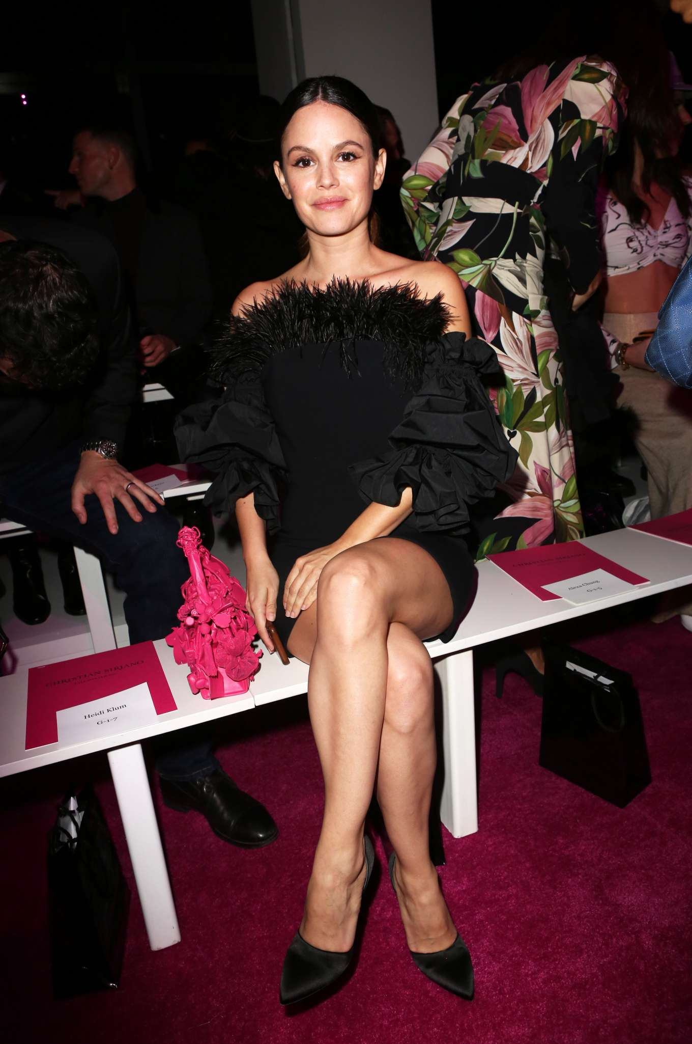 Rachel Bilson 2020 : Rachel Bilson – Christian Siriano Show at New York Fashion Week 2020-10