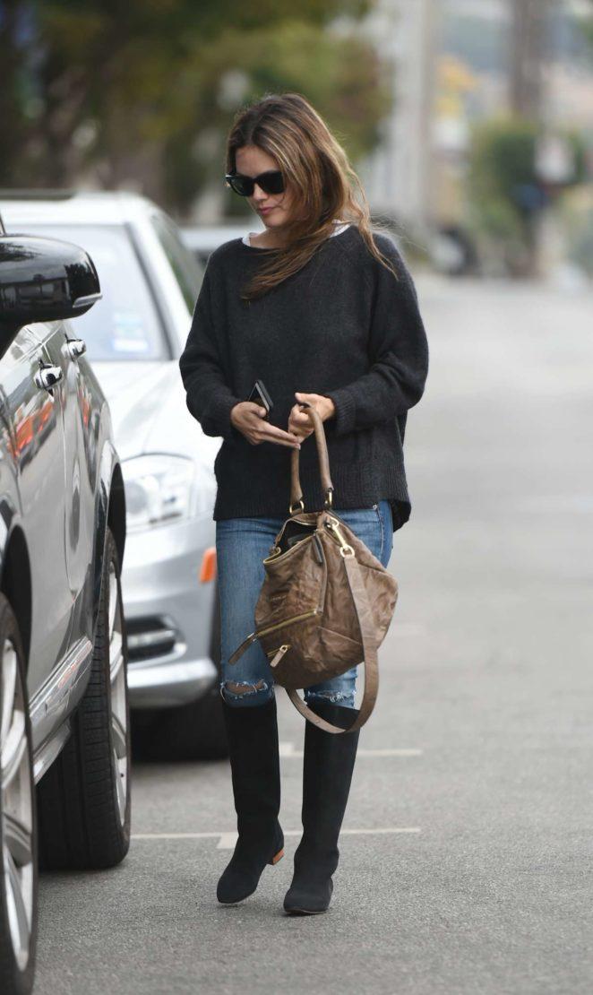Rachel Bilson - Goes to lunch in LA