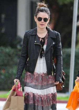 Rachel Bilson - Heading to a baby shower in West Hollywood