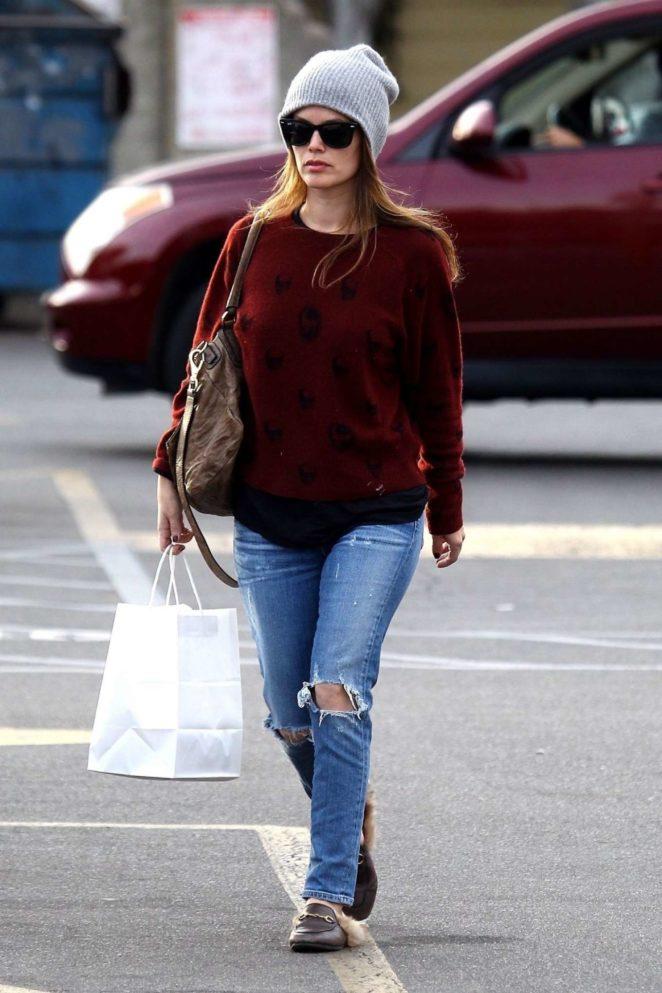 Rachel Bilson in Jeans - Shopping in Studio City