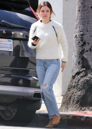 Rachel Bilson in Ripped Jeans - Out in Los Feliz