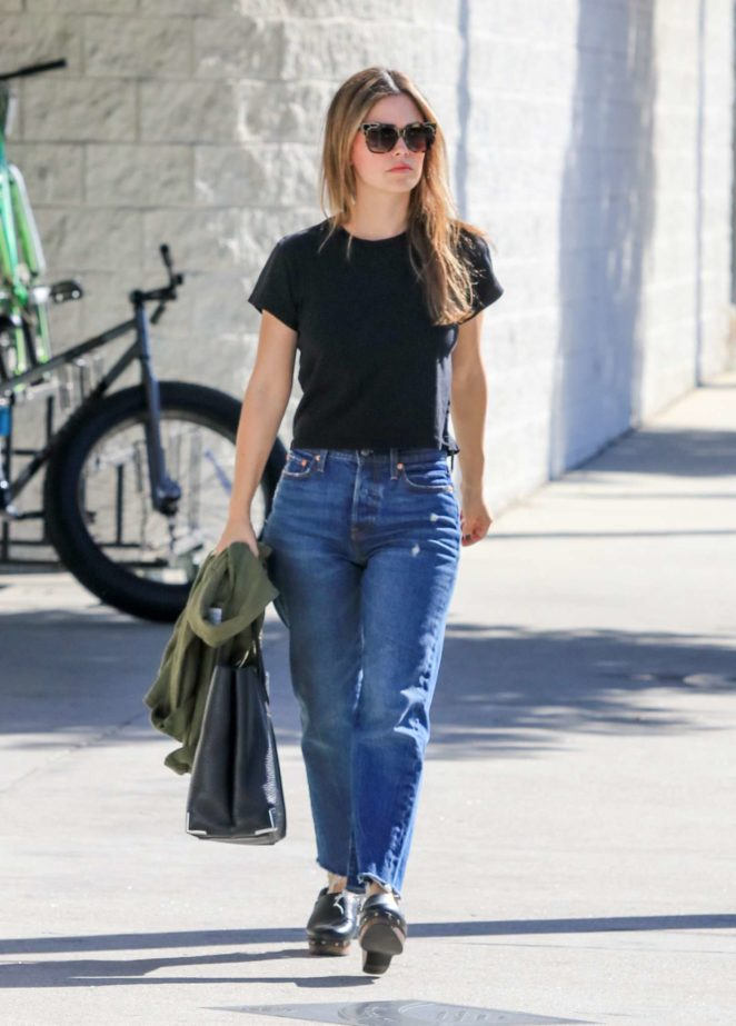 Rachel Bilson: Out and about in LA -01