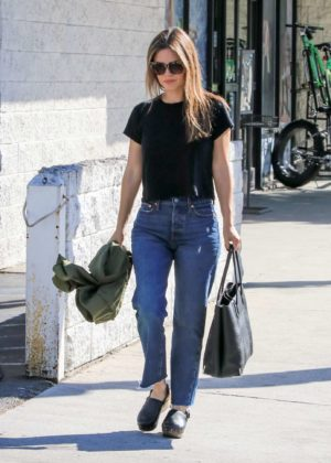 Rachel Bilson - Out and about in LA