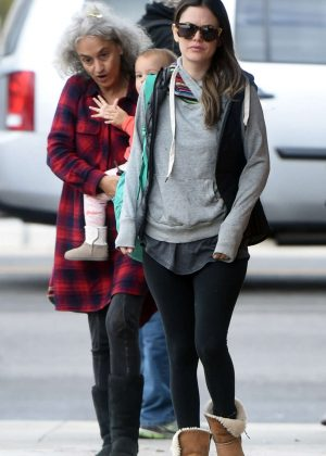 Rachel Bilson Out for Breakfast in Los Angeles