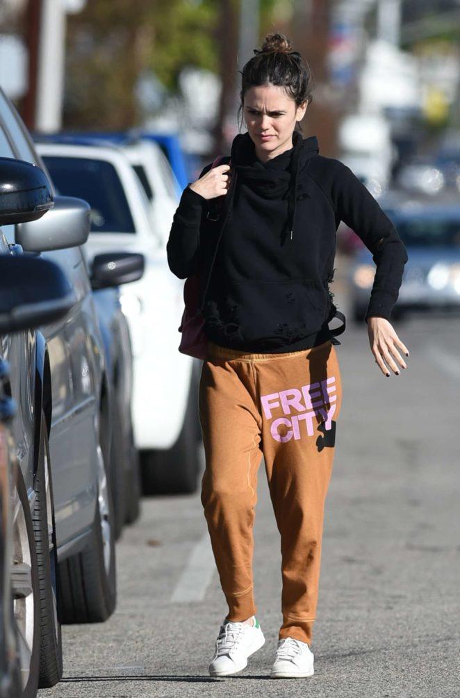 Rachel Bilson out for lunch in LA