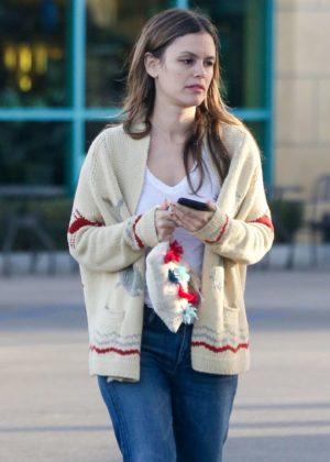 Rachel Bilson - Out for shopping in Toluca Lake