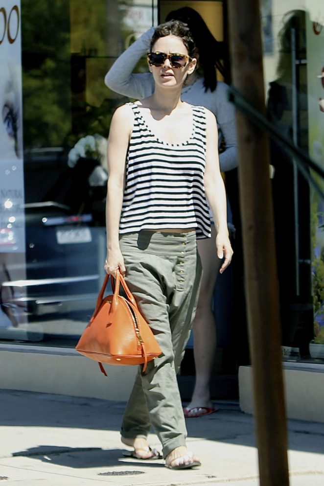 Rachel Bilson - Out in about in Los Angeles