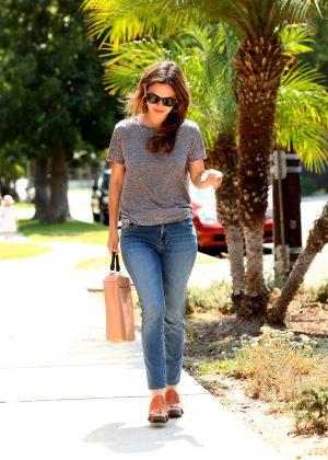Rachel Bilson out in Beverly Hills