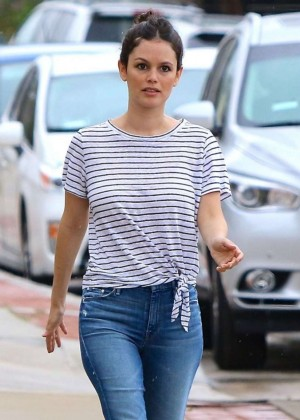 Rachel Bilson in Jeans out in Studio City