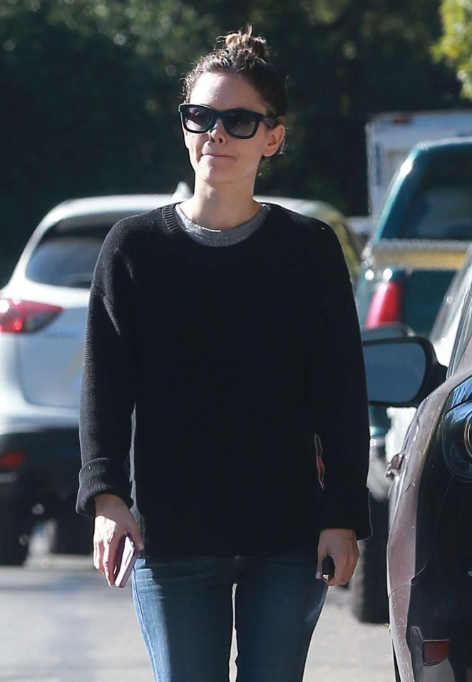 Rachel Bilson out in Studio City