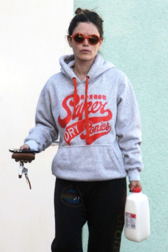 Rachel Bilson out in Studio City