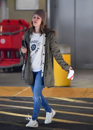 Rachel Bilson - Shopping at Target in LA
