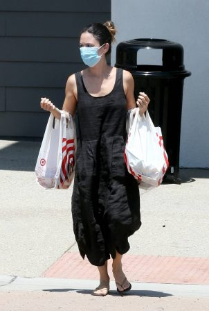 Rachel Bilson - Shopping at Target in Los Angeles