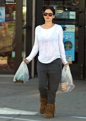 Rachel Bilson - Shopping in California