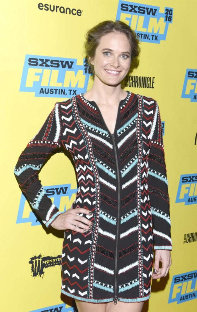 Rachel Blanchard – 'You Me Her' Premiere at 2016 SXSW in Austin