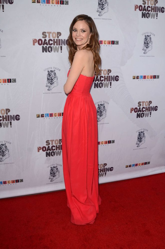Rachel Boston: Stop Poaching Now Gala -08