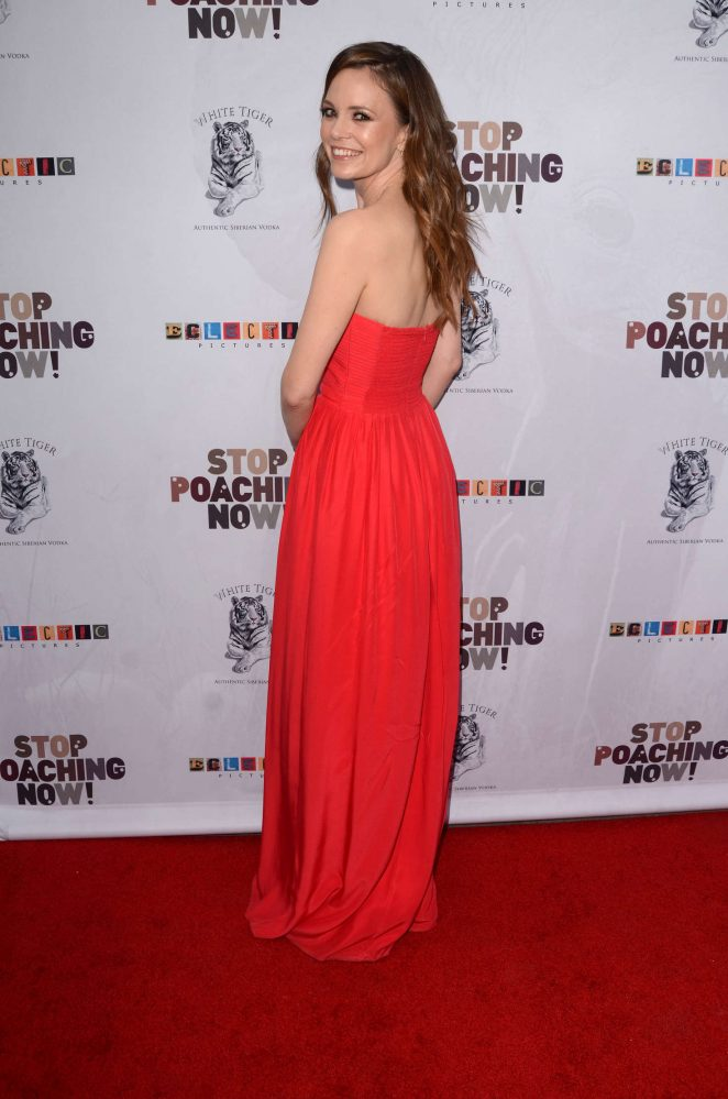 Rachel Boston: Stop Poaching Now Gala -13
