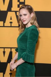 Rachel Brosnahan - Pictured at Opening Night of Slave Play at the Golden Theatre in New York