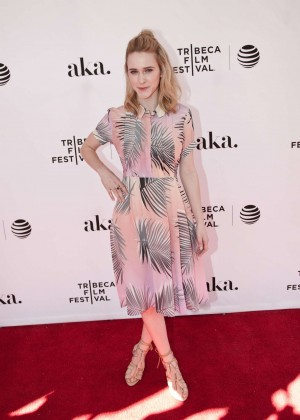 Rachel Brosnahan - 'The Fixer' Premiere at 2016 Tribeca Film Festival in New York