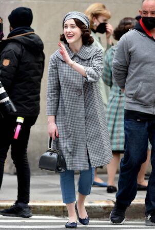 Rachel Brosnahan - 'The Marvelous Mrs. Maisel' set in New York