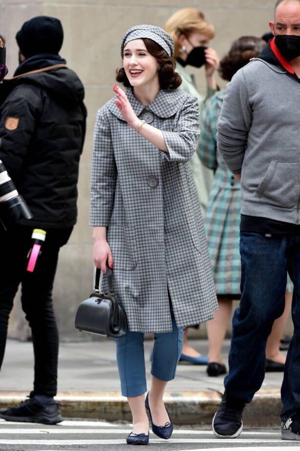 Rachel Brosnahan - 'The Marvelous Mrs. Maisel' set in New York