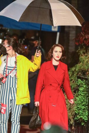 Rachel Brosnahan - 'The Marvelous Mrs. Maisel' TV Series set in New York