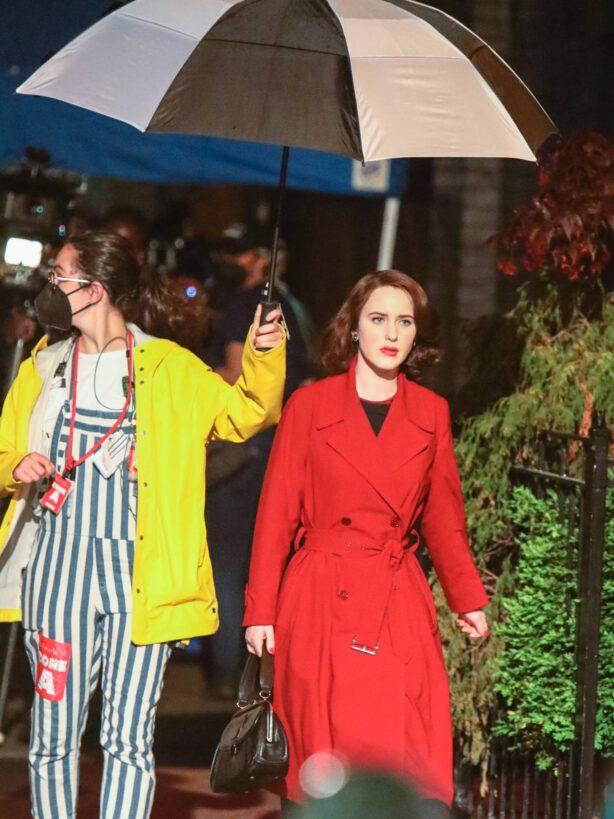 Rachel Brosnahan - 'The Marvelous Mrs. Maisel' TV Series set in New York