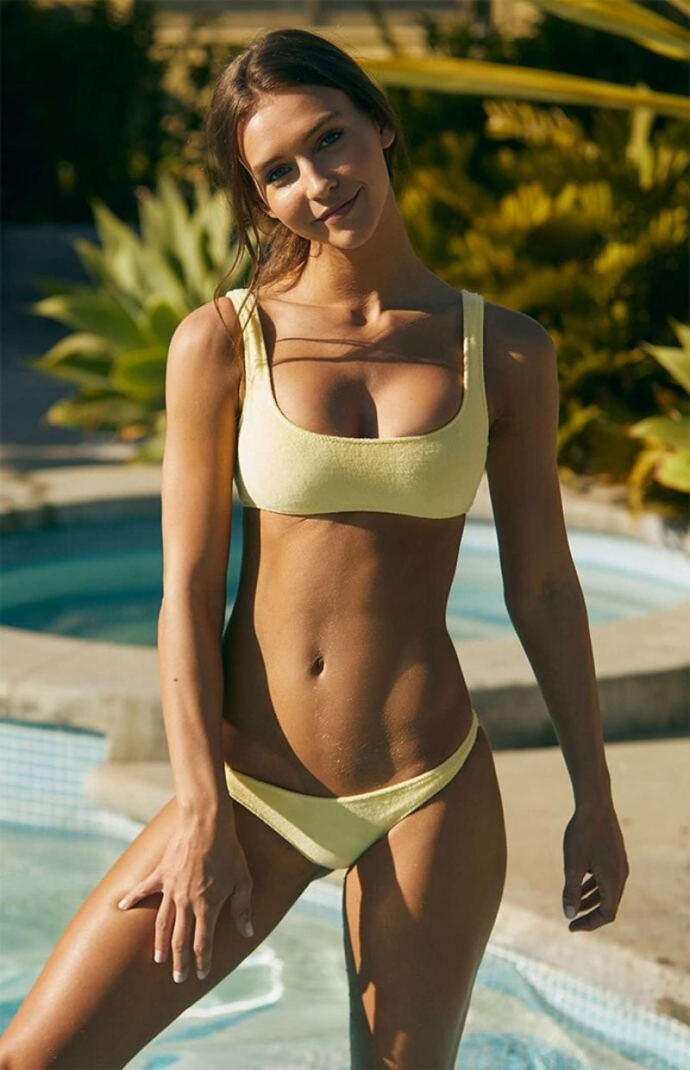 Rachel Cook - Photoshoot for Pacsun Swimwear 2019 collection