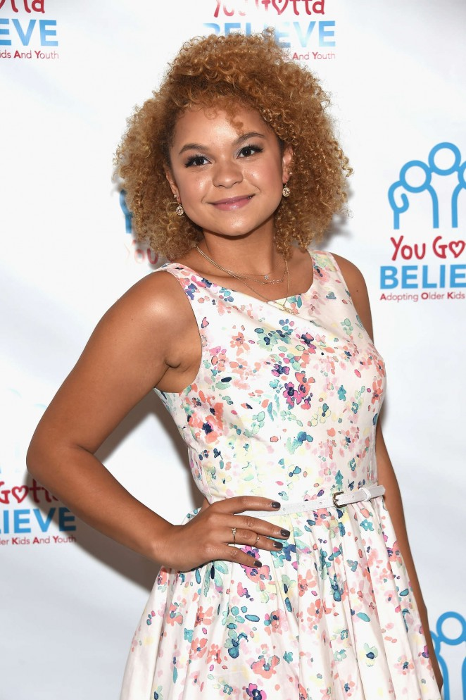 Rachel Crow - Voices For The Voiceless: Stars For Foster Kids in NYC